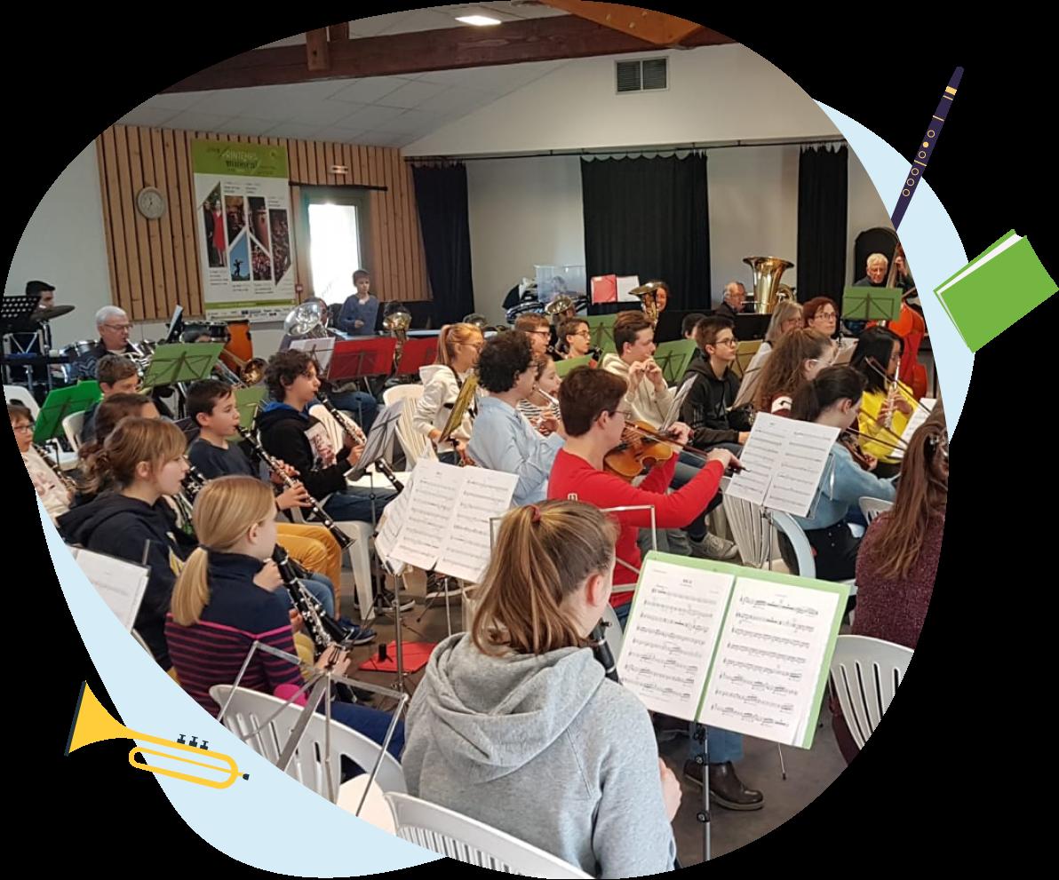 Le GAMEC l'Ecole de musique de la Cote Roannaise